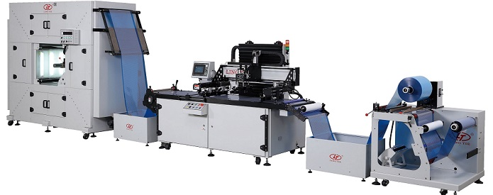 Roll To Roll Automatic Screen Printing Machine